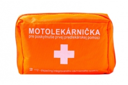 Moto first aid kit – textile packaging