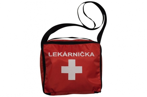 First aid kit for holiday and hiking